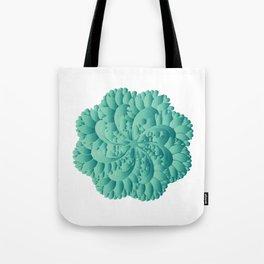 Jade Floral Mandara Tote Bag