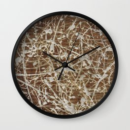 Card-Bored Wall Clock