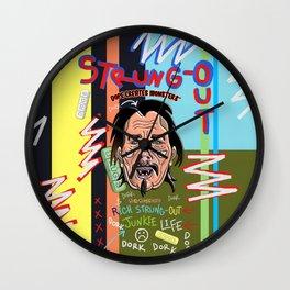 Dope Creates Monsters Circle Wall Clock