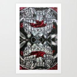 Transmogrify Art Print