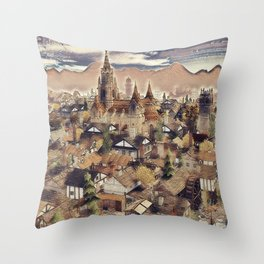 The Chapels Throw Pillow