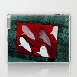 red sharks Laptop & iPad Skin
