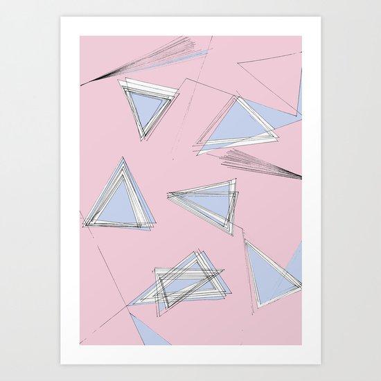 UNdone - pantone Art Print