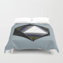 Icosahedron Duvet Cover