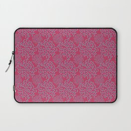 Neo Memphis Coordinate Pink Blue Laptop Sleeve
