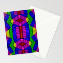 Abstract lights and shadows... Stationery Cards
