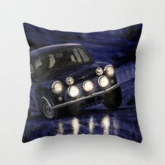 Motor Style Inc.: Rallye Monte Carlo Throw Pillow