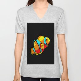 Clownfish Unisex V-Neck