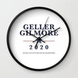 Geller Gilmore 2020 Wall Clock