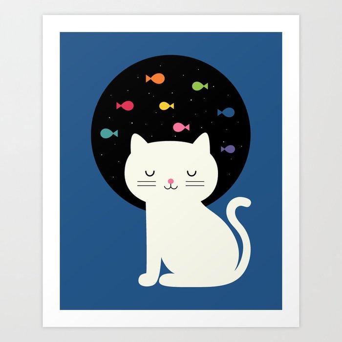 Cats Fantasy Art Print
