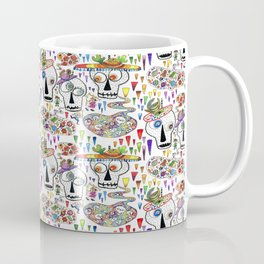 Day of the Dead Sugar Skull Pinatas Coffee Mug