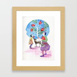 Welcome to Wonderland Framed Art Print