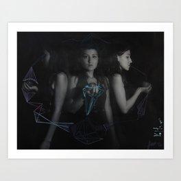 intervention 7 Art Print