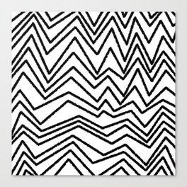 Graphic_Chevron freehand Canvas Print