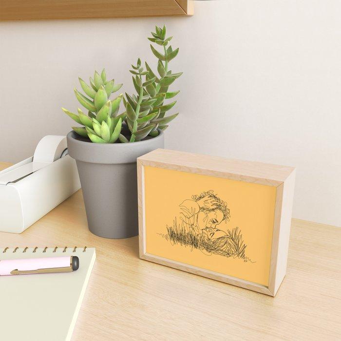 everything tastes better in sunshine Framed Mini Art Print