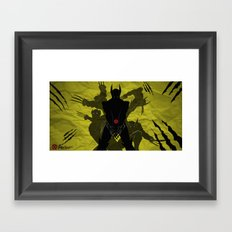 WOLVERINE Framed Art Print