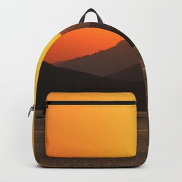 Sunset Over Piraeus Backpack