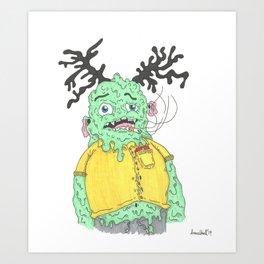 Bloated Bastard Art Print