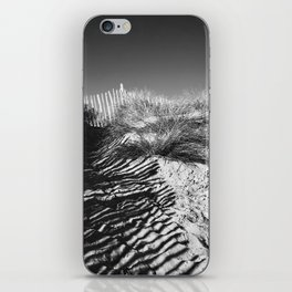 Fencing On The Beach iPhone Skin