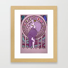 Princess of Space Framed Art Print