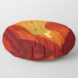 Mars - Valles Marineris Floor Pillow