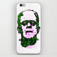 frank iPhone & iPod Skins featuring Frank by Fimbis