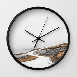 Roads Were Made For Journeys II Wall Clock