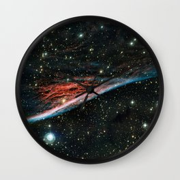 Pencil Nebula (NGC 2736) Wall Clock