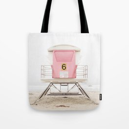 Pink Tower 6 Tote Bag