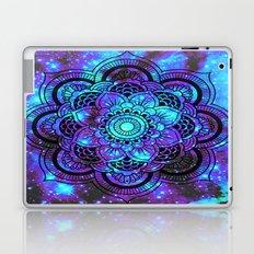 Mandala : Bright Violet & Teal Galaxy 2 Laptop & iPad Skin
