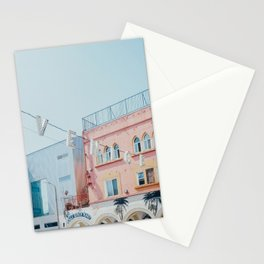 Venice Beach Sign in Los Angeles Stationery Cards