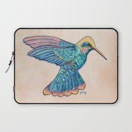 Colorful Hummingbird Laptop Sleeve