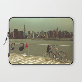 A Green Point Of View Laptop Sleeve