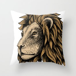 Calm and steady Throw Pillow