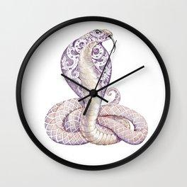 Cobra Snake Tattoo Wall Clock