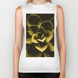Succulent Plant In Olive Color #decor #society6 #homedecor Biker Tank