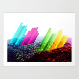 Colorscape Art Print