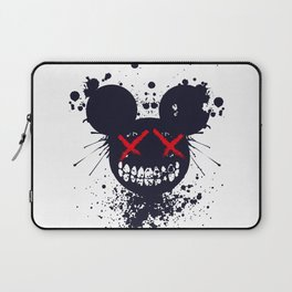 Artsy Cool punky Mouse Laptop Sleeve