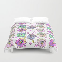 Talk Furby To Me Duvet Cover