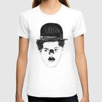 charlie chaplin T-shirts featuring Charlie Chaplin by creaziz