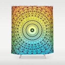 Good Vibes Mandala #1 Shower Curtain