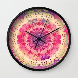 Anenome Mandala Wall Clock