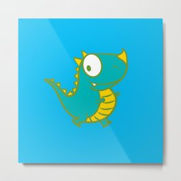 cutie monster_02 Metal Print