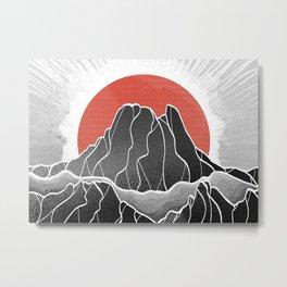 The rising sun Metal Print