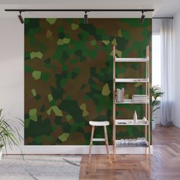 Freckled Camo. Wall Mural