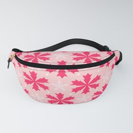 PINK SNOWFLAKE Fanny Pack
