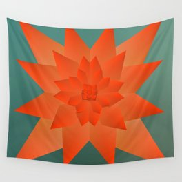 Origami Forest Birds  Wall Tapestry