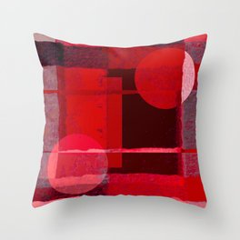Abstract Image Design In Digital Media No 17 Throw Pillow