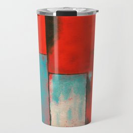 The Corners of My Mind, Abstract Painting Travel Mug