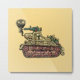 African desert corps tank WWII Metal Print